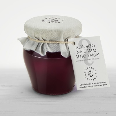 Wild blueberry jam from la Sierra del Caurel
