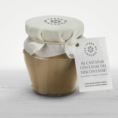 Organic chestnut cream from la Sierra del Caurel
