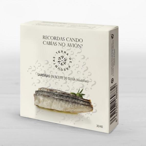 Sardinillas en aceite de oliva 30/40 RO 120