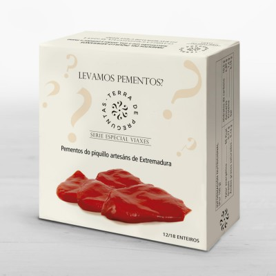 Artisan piquillo peppers from Extremadura Special Travel Series