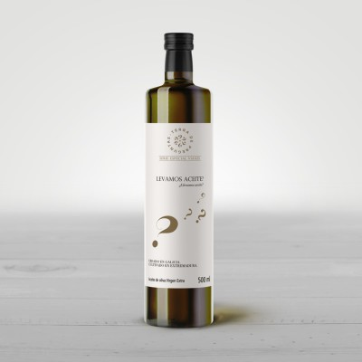 Extra virgin olive oil from Extremadura Special Travel Series 500 ml